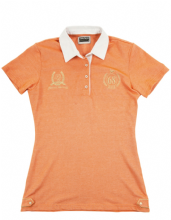 HKM LAURIA GARELLI GOLDEN GATE COLLECTION  POLO SHIRT - ORANGE   RRP £43.95